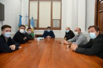 Ezequiel Galli y Sergio Berni compartieron agenda en Olavarría