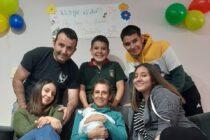Final feliz: Isabella fue dada de alta y dejó neonatología