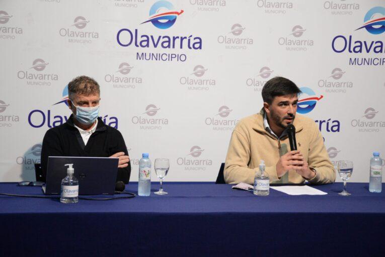 Galli en conferencia de prensa