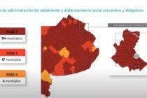Hay 114 municipios en fase 2 y destacan la caída de los casos por segunda semana