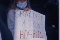 Mariana Proz fue dada de alta: «te vencí covid»
