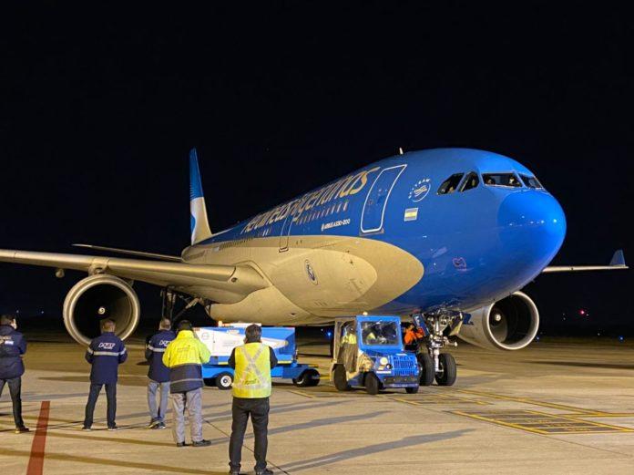 Nuevo vuelo a Moscú