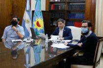 Presentaron obras del FIM que incluyen a Olavarría y las localidades