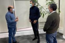 Florencio Randazzo reapareció en la escena política se reunió con referentes del Movimiento libres del sur