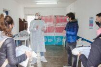 Se inauguró el Centro Provincial de Testeo de Covid en la sociedad de Fomento Hipólito Yrigoyen