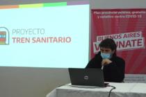 Borzi anunció de manera oficial la llegada del tren sanitario a Olavarría, fue en la jornada de este miércolesla llegada del tren sanitario a Olavarría