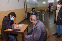 El plan provincial de vacunación estuvo en Hinojo y en total en Partido de Olavarría se aplicaron 1.076 dosis