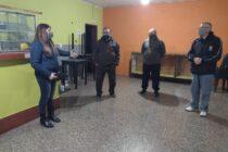 Visitas al Centro de Jubilados de Espigas y el Club La Esperanza