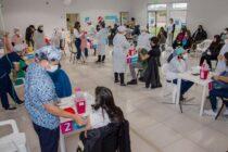 Más de 1.000 vacunados contra el covid este martes