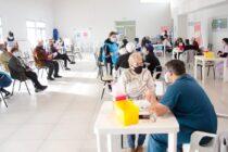 Este domingo fueron aplicadas 838 vacunas contra el coronavirus
