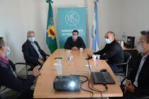 Aguilera avanza en las negociaciones para el edificio del Instituto de Educación Física