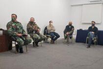 Con la participación de funcionarios, autoridades policiales se reunió el consejo de seguridad