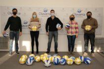 El Municipio entregó material a la Asociación Olavarriense de Voleibol