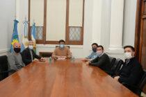 El Municipio puso a disposición el proyecto de obra y el lote para el Instituto de Educación Física