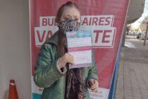 Región sanitaria IX celebró la vacunación de una joven Olavarriense