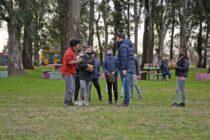 Se realizó un encuentro de Softbol barrial en La Máxima