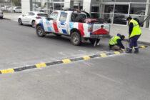 Seguridad vial: reductores de velocidad y cartelería
