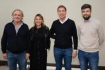 Cenizo, González y Coscia precandidatos a concejales con Diego Santilli