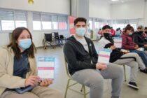 Campaña de vacunación: este jueves se aplicaron más de 900 dosis