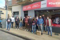 «Dar el paso» con fuerte presencia en las calles de Olavarría