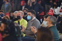 Ezequiel Galli participó del cierre de campaña de Diego Santilli