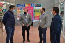 Ezequiel Galli se reunió con directivos del Hipermercado ChangoMás