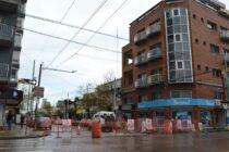 Interrupción de tránsito por obras de mantenimiento de red de agua
