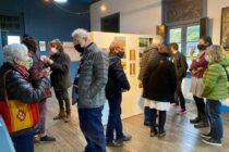 Se inauguró la muestra de la Escuela Municipal de Artes Plásticas de Sierras Bayas
