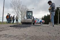 Se  iniciaron los trabajos de bacheo en autopista Fortabat