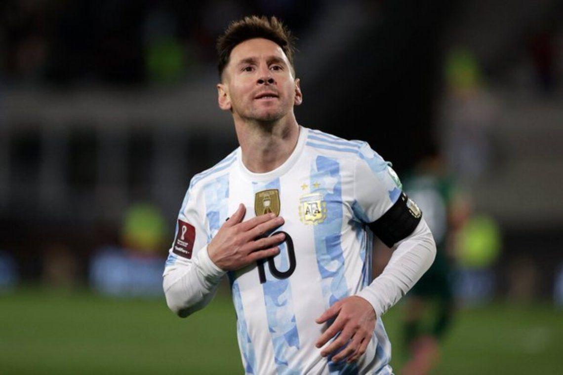 Tres goles de Messi coronaron
