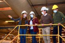 Wesner y Tolosa Paz recorrieron empresas de la ciudad con una agenda marcada en la producción y el empleo