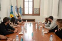 Autoridades municipales se reunieron con Danya Tavela
