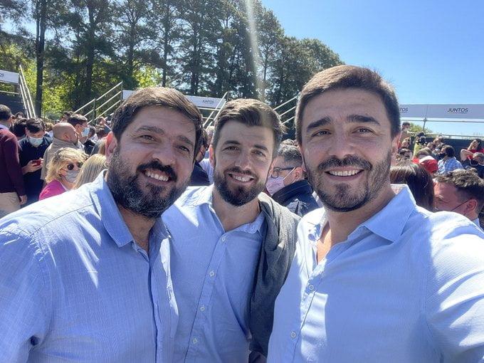 Galli Cenizo y Robbiani en