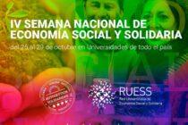 IV Semana Nacional de Economía Social y Solidaria en la Facultad de Ciencias Sociales