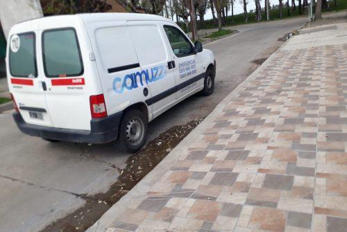 Robaron caños de cobre de medidores de gas en el Barrio CECO I