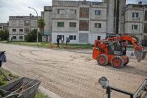 Se inició la obra de repavimentación en el barrio Independencia