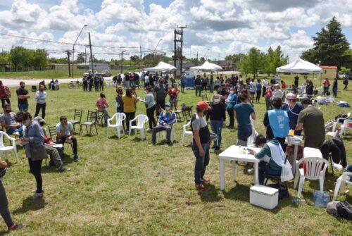"""Se llevó a cabo con éxito la """"Jornada Provincial de Salud Integral"""" junto a """"El Estado Cerca de Tuyo"""" en Hinojo"""